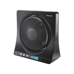 Honeywell Tischventilator HT-354E, flüsterleise Technologie, LED-Display