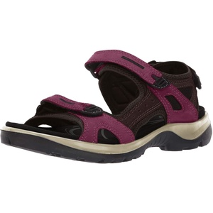 ECCO Damen OFFROAD Flat Sandal, Rot (SANGRIA/FIG), 37 EU