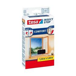 Fliegengitter tesa Insect Stop Comfort für bodentiefe Fenster 1,20x2,40m anthrazit