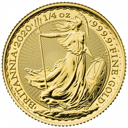 1/4 Unze Gold Britannia 2020