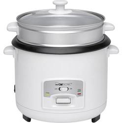 Clatronic RK 3566 Reiskocher Weiß mit Dampfgarfunktion