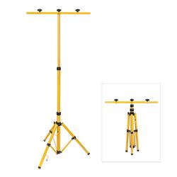 Stativ für 2 Baustrahler / LED-Strahler