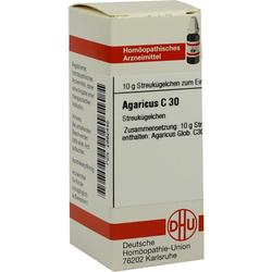 Agaricus C 30 Globuli