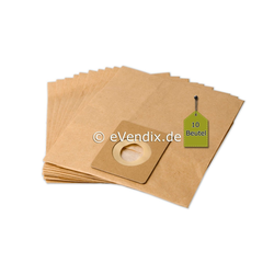 eVendix Staubsaugerbeutel 10 Staubsaugerbeutel Staubbeutel passend für Staubsauger Blomberg BC 1, passend für Blomberg