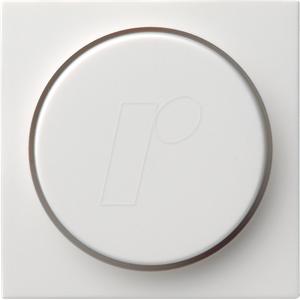 GIRA55 DIMM RWG - Knopf für Dimmer Reinweiß glänzend