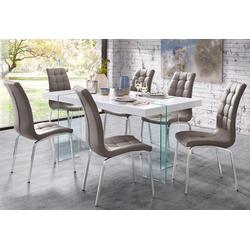 Essgruppe (Set, 5-tlg) braun Essgruppen Tische Sitzmöbel-Sets