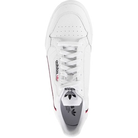adidas Continental 80 white-black-red/ white, 40.5