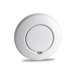 SEBSON Funk Rauchmelder vernetzbar mit anderen Funkwarnmeldern, DIN EN 14604 zertifiziert, fotoelektrischer Rauchwarnmelder funkvernetzt, Hitzemelder Rauchmelder