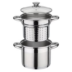 GSW Pastatopf / Nudeltopf TREVISO 22 cm 6,5 Liter mit Einsatz