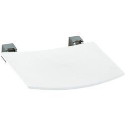 Keuco Duschklappsitz Plan, belastbar bis 110 kg, weiß