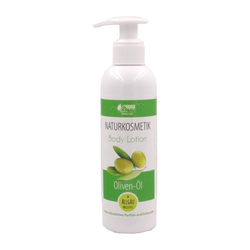 200ml Oliven-Öl Body Lotion Naturkosmetik trockene Haut Pullach Hof