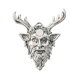 Adelia´s Amulett Siegel der Hexerei (versilbert), Cernunnos - Stärke und Ermächtigung