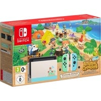 Nintendo Switch hellblau/hellgrün + Animal Crossing: New Horizons (Bundle)