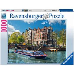Ravensburger Grachtenfahrt in Amsterdam Puzzle 1000 Teile