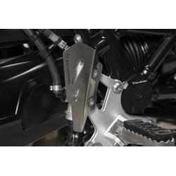 SW-Motech Remcilinder bewaker - Zilver. BMW R nineT (14-), Scram/ Pure/ GS (16-).