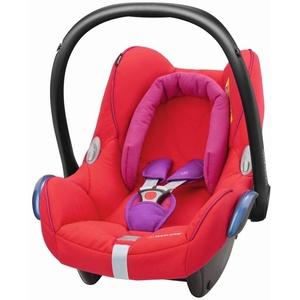 Maxi Cosi 8617333120 Cabriofix Babyschale Gruppe 0+ (0-13 kg), mit Isofix, rot