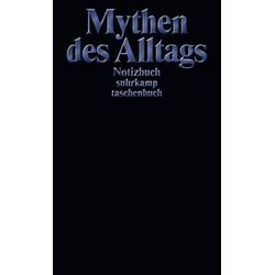 Notizbuch Mythen des Alltags - suhrkamp taschenbuch