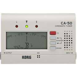 Korg Stimmgerät, chromatisch, CA-50, weiß