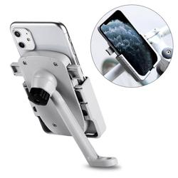 cofi1453 cofi1453® 360 Grad Verstellbarer Halterung Universal Fahrrad Handyhalterung für Rückspiegel Halter Fahrrad Fahrradhalterung für Smartphones Smartphone-Halterung weiß