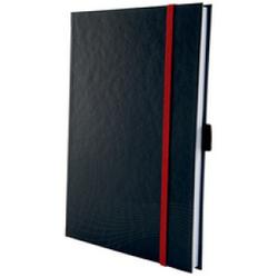 Avery Zweckform Notizio Notizbuch, kariert, 80 Blatt, Hochwertiges Buch mit Hardcover-Einband im modernen Coverdesign, DIN A5, dunkelgrau
