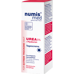 NUMIS med Urea 5% Tagescreme+Hyaluron 50 ml