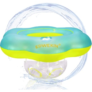 EDWEKIN® Baby Schwimmring, Mitwachsende Schwimmhilfe, Schwimmsitz Kleinkinder, Baby Float, Kinder Schwimmreifen ab 6 Monate bis 3 Jahre