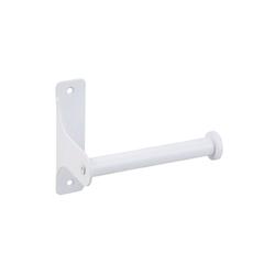 SOSmart24 Toilettenpapierhalter SOSmart24 PURE WHITE Toilettenpapierhalter aus Metall - Weiß Matt - Klopapierhalter Klorollenhalter Klopapierhalter Toilettenrollenhalter Papier Rollenhalter Toilettenpapierhalterung