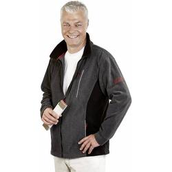 L+D ELDEE 2507-XXL Faserpelz-Jacke Pamir Größe=XXL Grau, Schwarz