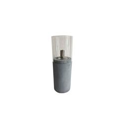 HTI-Line Dekofigur Öllampe Beton Öllampe Beton (1 Stück), Öllampe