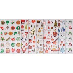 maildor Sticker Weihnachten, 8 Blatt