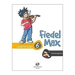 Fiedel-Max 6 Violine - Klavierbegleitung - Buch