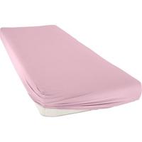 bellana bellana, Spannbettlaken Mako-Jersey, aus reiner Baumwolle rosa
