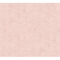 A.S. Création Vliestapete Neue Bude 2.0 Uni in Vintage Optik, uni rosa