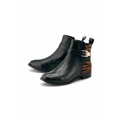 Ankle-Boots Trend-Stiefelette COX schwarz