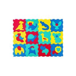 Hakuna Matte Puzzlematte Safari Tiere, 12 Puzzleteile