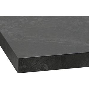 wiho Küchen Arbeitsplatte Flexi, 38 mm stark schwarz 150 cm x 3,8 cm x 60 cm