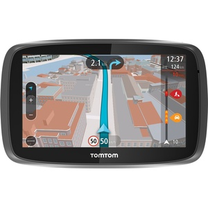 TomTom Go 500 Speak & Go Auto-Navigation (13 cm (5 Zoll) Touchscreen, micro-SD Kartenslot) schwarz
