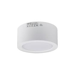VBLED LED Aufbaustrahler VBLED LED Aufbauleuchte in weiß 3K