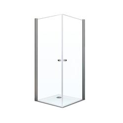 Breuer® Dusche »Elana 6«, Eckeinstieg mit Drehtür, 2-türig, 100 x 100 cm