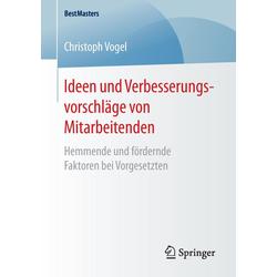 Ideen und Verbesserungsvorschläge von Mitarbeitenden als Buch von Christoph Vogel
