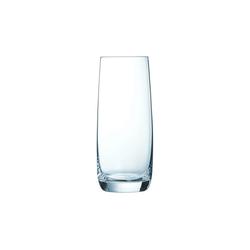 Chef & Sommelier Longdrinkglas Vigne, Longdrinkglas 450ml Krysta Kristallglas transparent 6 Stück Ø 7 cm x 16.5 cm