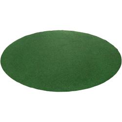 Rasenteppich Kunstrasen Field, Andiamo, rund, Höhe 4 mm Ø 195 cm x 195 cm x 195 cm x 4 mm