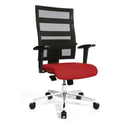 Topstar Design-Drehstuhl rot 959T T210