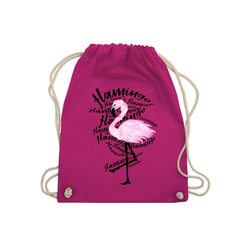 Shirtracer Turnbeutel Flamingo - Turnbeutel