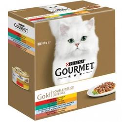 Gourmet Gold Luxe Mix 8 pack (blikjes 85 gram)  48 x 85 gram