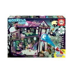 Educa Puzzle Mysterious Puzzle- Geisterhaus, 100 Teile, Puzzleteile