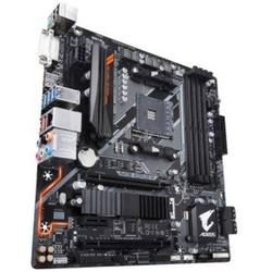 Gigabyte B450 AORUS M AMD Mainboard Sockel AMD AM4 Formfaktor Micro-ATX Mainboard-Chipsatz AMD® B45