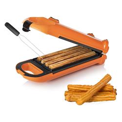 PRINCESS Waffeleisen, 700 W, Churros Maker für bis zu 4 Waffeln, Waffeleisen für original spanisches Spritzgebäck, Snackmaker mit Waffelgabel