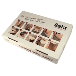 Sela Cajon Bausatz Inklusive CD und Lehrbuch