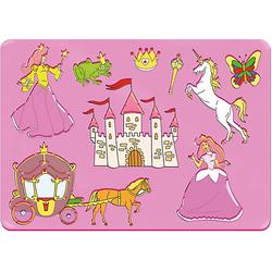 Mal-Schablonen-Set 1 pink-kombi